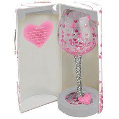 Amazon.com: Santa Barbara Design Studio GLS20-5524H Lolita Super Bling Collection Wine Glass, Pretty Girl: Kitchen & Dining