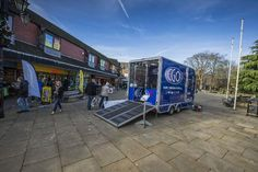 #Iforwilliams Business inabox mobile barbers shop