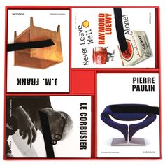 For the lover of great design, this four-book set features memoirs from design visionaries Le Corbusier, Raymond Loewy, Jean-Michel Frank and...