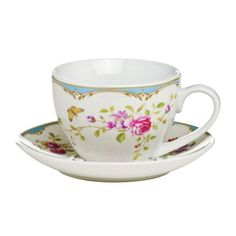 Cup And Saucer Gentle Rose Design 250ml Porcelain Attractive And Shine Quality Guinessmart http://www.amazon.co.uk/dp/B00J1ELWXA/ref=cm_sw_r_pi_dp_ddvfvb1CC6ACS
