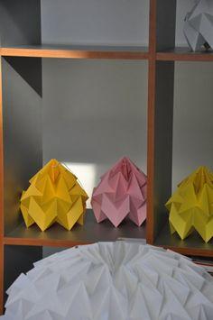 origami lampenschirme ideen DIY schön