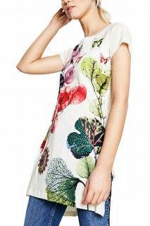 Desigual smetanové dlouhé triko May - 1499 Kč Ss 17, Tommy Hilfiger, Floral Tops, Calvin Klein, Leaves, Boutique, Stuff To Buy, Women, Fashion