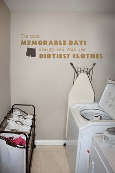 The Most Memorable Days II Laundry Decal - Trading Phrases