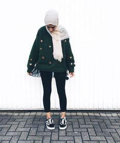 wholesale dealer 48d12 e2a16 Modern Hijab Fashion, Street Hijab Fashion, Hijab Fashion Inspiration,  Muslim Fashion, Casual