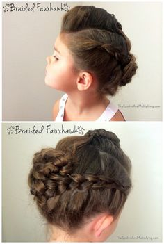 <b>Not all hairstyles work on toddlers, but these do.</b>
