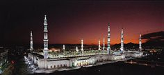 Madina Sharif in the evening