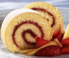 Chocolate-Cinnamon Cake Roll recipe - from Tablespoon! Cakes To Make, How To Make Cake, Köstliche Desserts, Delicious Desserts, Dessert Recipes, Yummy Food, Party Recipes, Plated Desserts, Food Cakes
