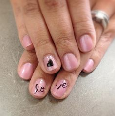 Valentine nail art #love #nails Make sure to check out http://www.thepolishobsessed.com for nail art, tutorials, giveaways and more!