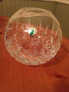 waterford lismore rose bowl