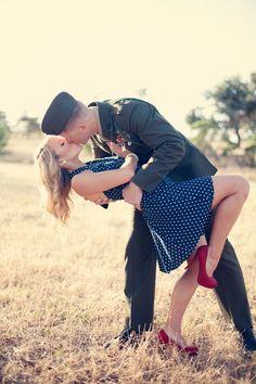 Military Vintage Photo Shoot by Stephanie Needham Photography