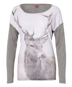 Just bought this yesterday. I hope we actually get a spring here so I can wear it....Viscose t-shirt photo print - steel melange | Olsen.co.uk