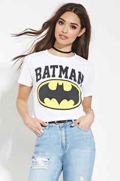 Batman Graphic Crop Top