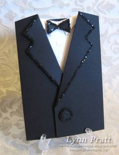 Tuxedo Pocket Card by lpratt - Cards and Paper Crafts at Splitcoaststampers