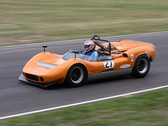 1966 McLaren M1B  - successor to M1A, McLaren's first pureblood racer. Powered by 300 HP Chevrolet V8, it could go over 300 kph and accelerating from 0 to 60 mph in just 3.8 seconds.Although 28 production versions of the car were built, only three of these 1966 McLaren M1B racers ever saw the light of day.