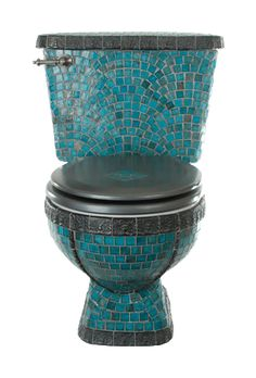 Mosic Toilet. Peacock Throne.