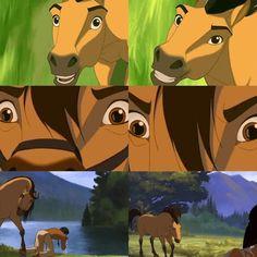 Spirit Horse Movie, Spirit The Horse, Spirit And Rain, Dreamworks Animation, Disney And Dreamworks, Spirit Drawing, Horse Movies, Beloved Movie, Childhood Movies