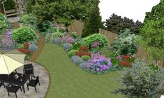 Garden design for a suburban woodland garden in Chester using a mix of natural materials for windy paths and circular patio areas and featuring a lovely corner arbour. Circular Garden Design, Circular Patio, The Cheshire, Corner Garden, Pergola Attached To House, Woodland Garden, House Front, Natural Materials, Design Projects