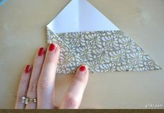Learn how to make an envelope from paper. Full tutorial.