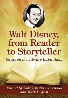 Walt Disney from Reader to Storyteller: Essays on the Literary Inspirations @ niftywarehouse.com #NiftyWarehouse #Nerd #Geek #Entertainment #TV #Products