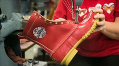 L.L. Bean Boston Red Sox World Champions boots made in USA