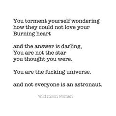 Oh god!  Poem You're the universe