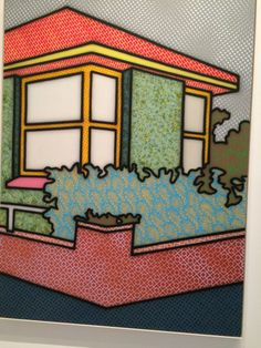 Held at the TarraWarra Museum of Art in Victoria's Healesville, a retrospective of Howard Arkley's iconic paintings and inspirations gave insight into his exploration of suburban Australia. Magnum Opus, Mondrian, Howard Arkley, Musica Punk, Postmodern Art, Creative Architecture, Australian Artists, Heart Art, Various Artists