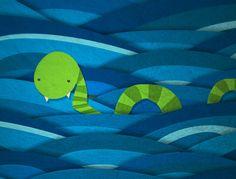 Ilustraciones by Diana Urquiza, via Behance