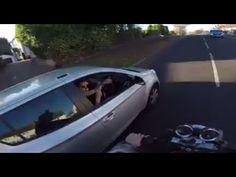 VIDEO: Biker gets revenge after act of kindness backfires terribly