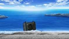 ガルパン劇場版に見る、エフェクトに込められた技術と意味 : GOMISTATION  ・海の中からこんにちわ ☆   橋本作画かも?(※推測)水作画ですが、素晴らしかったので紹介。海から上がる時、まず履帯周辺にあった海水が流れ落ちていき、その後戦車の上に乗っていた水が流れていく。それぞれ流れ落ちていく感じも良いですが、特にいいのが戦車前方の流水。ヨッコイショと持ち上がった水が、前方の装甲部に張り付きながら流れていく。いやあ、めちゃウマです。誰だろう。