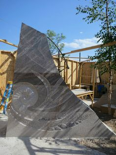 One of the first granite pieces completed by Masayuki Nagase an more to come! Main Street Square, Rapid City, SD