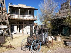 What remains of Wyatt Earp's Old Tombstone, a former tourist trap outside of Tombstone (tombstone39xy) by mlhradio, via Flickr