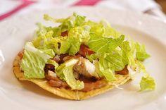 Chicken Tostadas A quick and delicious dinner idea         #quick #dinner #ideas