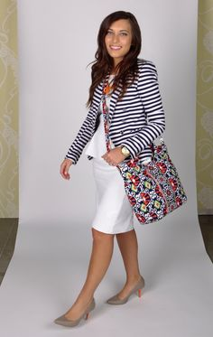 For day: Alisa Carries ... the Two Way Tote in Sun Valley