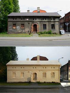 Assim se transformam casas abandonadas em obras de arte