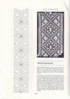 LACE Nº 30 SUMMER 1983 - petus gomez - Álbumes web de Picasa Bobbin Lacemaking, Old Pillows, Bobbin Lace Patterns, Lace Heart, Lace Jewelry, Needle Lace, Lace Making, Lace Detail, Crochet Projects