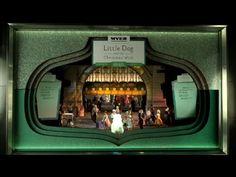 2015 Myer Christmas Windows - Window 5  #myerwindows #littledogandthechristamswish #stageone #stage1 #corinnefenton #robincowcher #walkerbooksaustralia #christmaswindows #melbourne #visualmerchandising