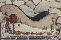 Winter Sleigh Scene - Phyllis TIlford