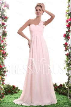 Bridesmaid Dress #A-line#Fabulous Ruched#