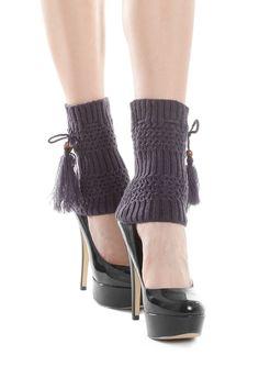 GETRY PEPPY SHORT A71 Ciepłe i modne getry z pomponami. Idealne na chłodne dni. - wspaniale otulają nogi - oryginalny wzór - miłe i miękkie w dotyku - najmodniejsze kolory