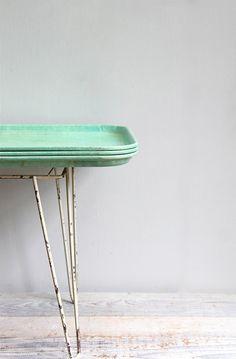Vintage Melamine Cafeteria Tray  Extra Large van ethanollie op Etsy