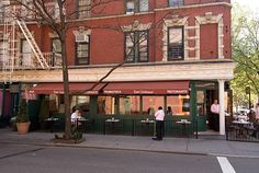 SANT AMBROEUS  259 W. 4th St., New York, NY 10014  nr. Perry St