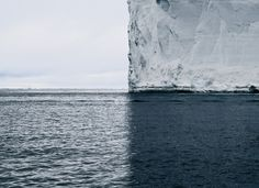 True Symmetry //* 2007 photo from Canadian photographer David Burdeny. Thanks to perfect composition and symmetry, the photo is divided into four different sections of colour and texture.