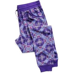 Vera Bradley Pajama Pants in Lilac Tapestry ($38) ❤ liked on Polyvore featuring intimates, sleepwear, pajamas, lilac tapestry, vera bradley, pajama tops, pj tops, pj pants and jersey knit pajamas