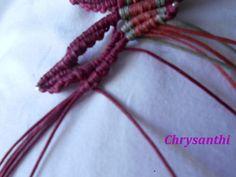 ΕΝΑ ΙΔΙΑΙΤΕΡΟ ΣΧΕΔΙΟ   kentise Macrame Art, Macrame Tutorial, Macrame Bracelets, Textiles, Handmade Bags, Crochet Necklace, Projects To Try, Pattern, Diy