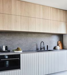 Our favourite scheme for the kitchen - pastel and bright colour and simplicity of form. Always works! source source sourc...