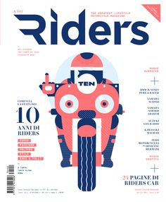 Cover of the Day: Riders Magazine, April 2017