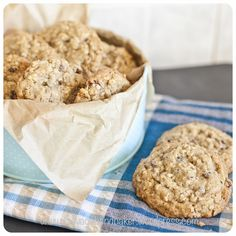 Oat and Sultana Cookies: I have to start this post by declaring that these are the most delicious cookies I have ever baked. Phew, that's it out there! Oat Cookies, Delicious Cookies, Baking, Breakfast, Sweet, Desserts, Recipes, Cakes, Food