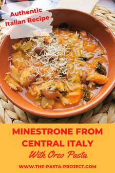 Yummy Pasta Recipes, Tasty Recipe, Soup Recipes, Italian Soup, Italian Pasta, Italian Recipes, Recipe Minestrone, Cold Pasta Dishes, Pasta Types
