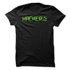 By wearing this shirt, you are visibly associating yourself with the hacker culture.