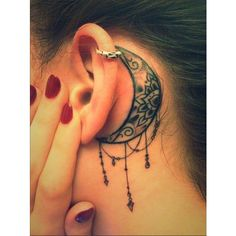 bodycraft Nottingham. Behind the ear ❤ liked on Polyvore featuring accessories